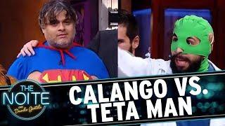 Luta Livre: Calango vs. Teta Man | The Noite (13/11/17)