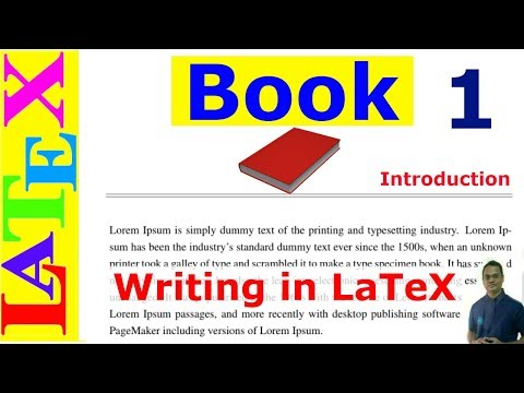 A Complete Book Writing in LaTeX (Latex Tutorial, Episode-30)