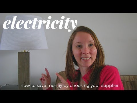 Save Money on Electricity: Choosing your Energy Supplier