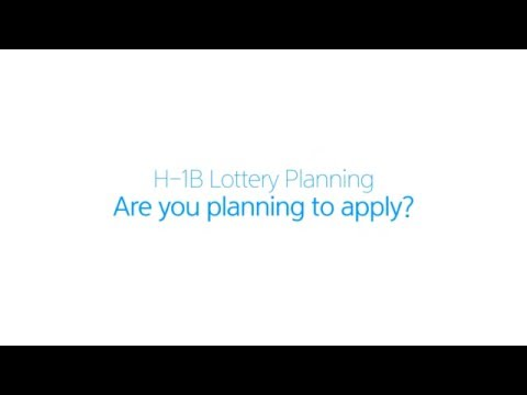 H1B Visa 2017 Process Overview