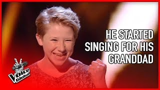 Most INSPIRING audition in The Voice 😭| STORIES #14