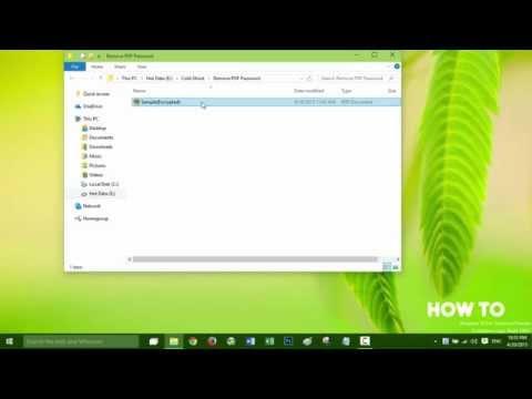 Remove PDF password using Wondershare PDF Password Remover