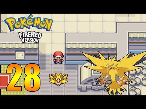 Zagrajmy w Pokemon FireRed #28 - Zapdos i opuszczona elektrownia