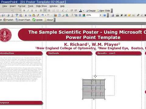 Poster Design with PowerPoint Template