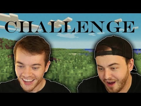 TWO PERSON KEYBOARD FIRE DRILL (Minecraft Challenge w/ Hbomb)