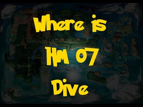 Where Is: HM 07 - Dive (Pokemon Alpha Sapphire/Omega Ruby)