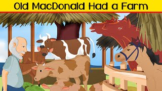 Old MacDonald Had a Farm -  Kids Nursery Song