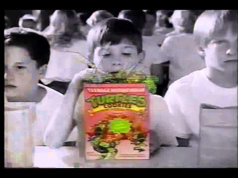TMNT Cookies Commercial (1989)