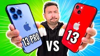 Le Problème de l'iPhone 13 Pro VS iPhone 13 !