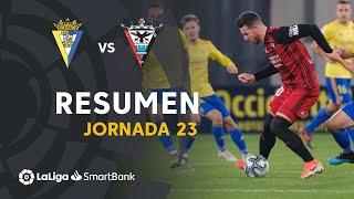Resumen de Cádiz CF vs CD Mirandés (3-3)