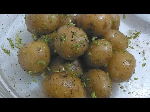 How to cook Spiced Boiled Baby Potatoes