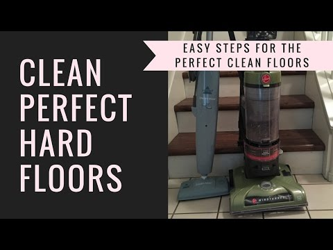 How to clean hard wood floors | Cleaning up Pet Hair