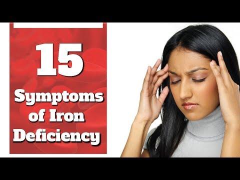 15 Symptoms of Iron Deficiency Anemia | Boldsky