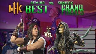 EGL Dallas MKX Grand Finals DJT (Tremor, Kung Lao )vs Wound