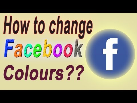 How To Change FACEBOOK Colours in Android Mobile