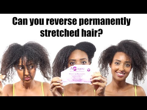 ApHogee Protein Treatment on Damaged Hair | Lost Curl Pattern | Get Curls Back