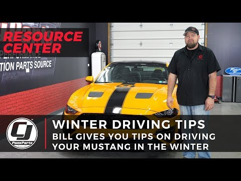 Winter Driving: Tips for Driving your Mustang Through Winter