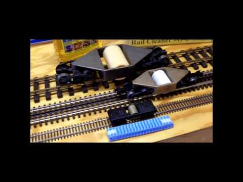 O scale HO scale G gauge Centerline Track Cleaners
