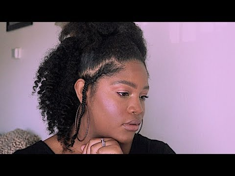 Easy Half Up/Half Down Hairstyle |Natural Hair