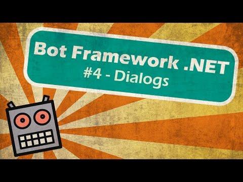 Microsoft Bot Framework .NET - Dialog Fundamentals