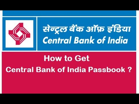 Central Bank Passbook Online