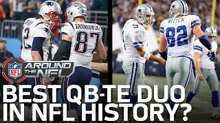 What is the Best  QB-Tight End Duo of All-Time? | NFL