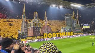 Dortmunder Ultras Choreografie BVB vs Eintracht Frankfurt 14.02.20 Westfalenstadion