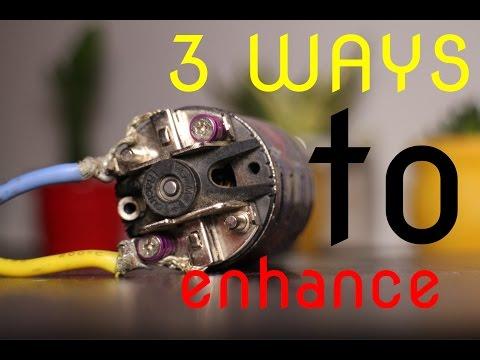 3 performance enhancing methods for brushed motors.  RCA | HD
