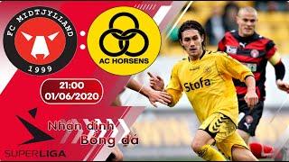 Nhận định, soi kèo Midtjylland vs Horsens 21h00 ngày 01/06 - vòng 25 - Superliga Đan Mạch 2019/2020