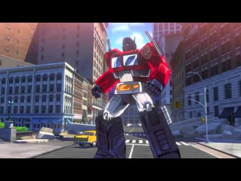 TRANSFORMERS DEVASTATION GamePlay On The First Mission