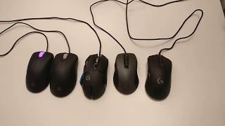 G400s Gaming Mouse NEW in 2017 Logitech Fix take apart