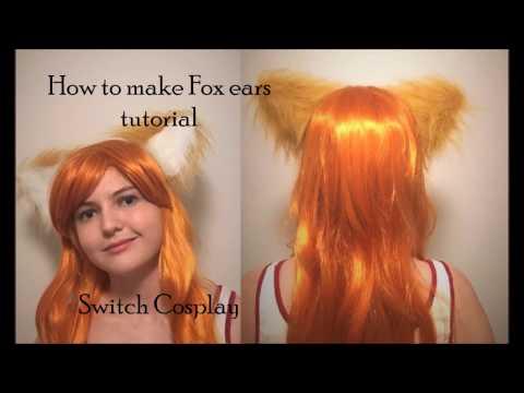 How to make Fox ears tutorial