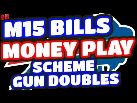 Madden 15 Next Gen Money Play Scheme | Gun Doubles Bills Playbook