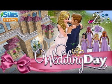 The Sims FreePlay 💐| WEDDING DAY | 🎂by Joy.