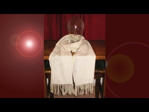 How to Make a Fringed Scarf.  Easy Scarf Making.  Simple Beginner's Sewing Machine Project.
