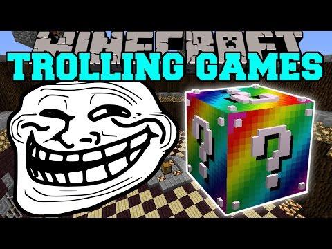 Minecraft: RUNESCAPE TROLLING GAMES - Lucky Block Mod - Modded Mini-Game