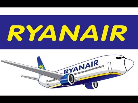 RYANAIR Review 2018 - Checkin / Print Boarding Cards / BEST SEAT ON BOARD / Food