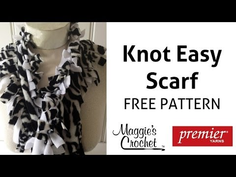 Knot Easy Scarf - Right Handed