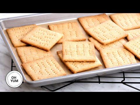 Honey Graham Crackers Recipe - OH YUM with Anna Olson