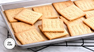 How to Make Honey Graham Crackers at Home!