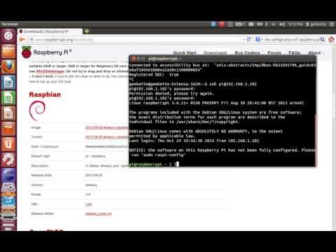 Config and View Raspberry PI under Ubuntu Part 2 ( Access via SSH)