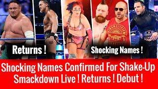 Shocking Names Confirmed For WWE Superstar ShakeUp 2018 Results ! WWE Smackdown 4/17/2018 Highilghts