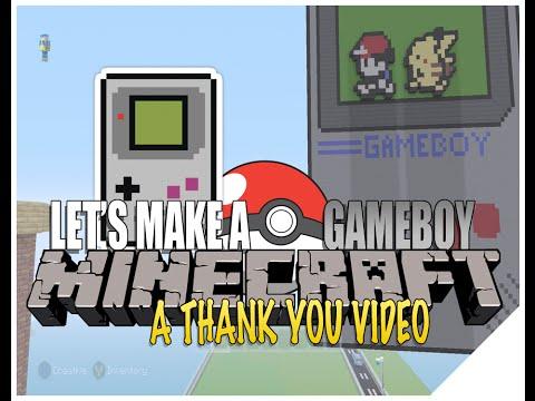 Minecraft Pixel Art Tutorial | Pokemon: Gameboy [Speed Art]