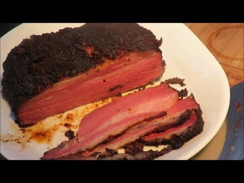 Homemade Pastrami on the Grill