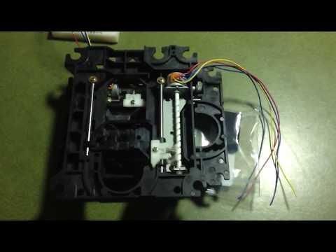 Raspberry Pi and CD Rom Stepper Motors