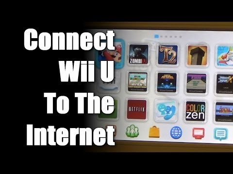 Connecting Wii U to the Internet