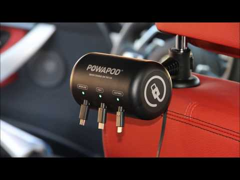 Uber & Lyft charger that gets you 5 stars, great tips & it's a conversation starter. 4 x faster