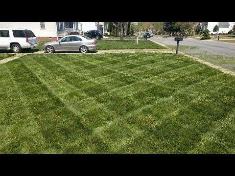 How to Stripe at Lawn - Diamond Pattern - Toro 36