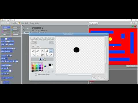 KS3 Computing - Creating a Pacman Game in Scratch