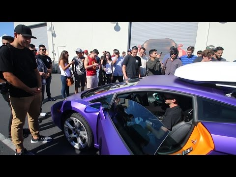 Took the Lambo to a Supercar Show